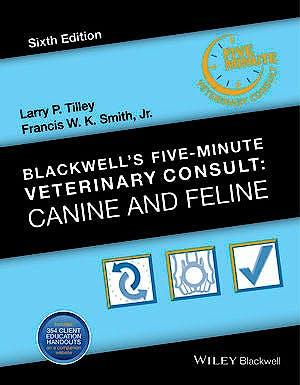 Portada del libro 9781118881576 Blackwell's Five-Minute Veterinary Consult: Canine and Feline
