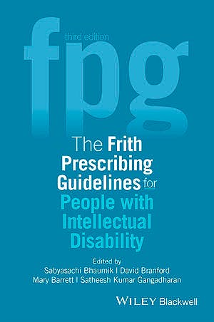Portada del libro 9781118897201 The Frith Prescribing Guidelines for People with Intellectual Disability