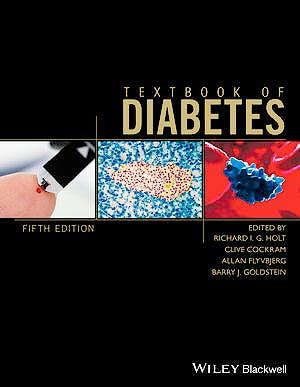 Portada del libro 9781118912027 Textbook of Diabetes