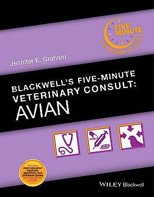 Portada del libro 9781118934593 Blackwell's Five-Minute Veterinary Consult: Avian