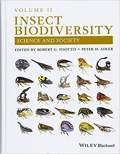 Portada del libro 9781118945575 Insect Biodiversity. Science and Society, Vol. II