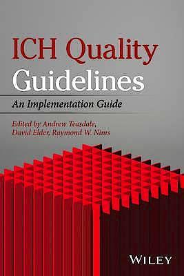 Portada del libro 9781118971116 ICH Quality Guidelines