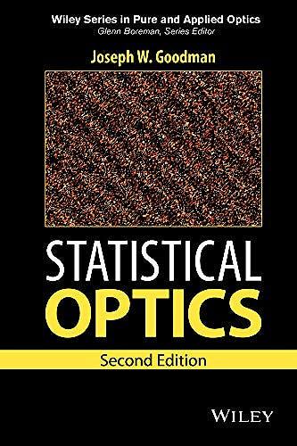 Portada del libro 9781119009450 Statistical Optics