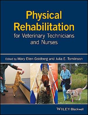 Portada del libro 9781119017356 Physical Rehabilitation for Veterinary Technicians and Nurses