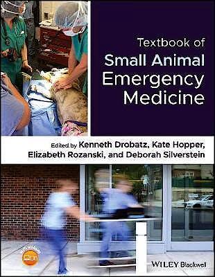 Portada del libro 9781119028932 Textbook of Small Animal Emergency Medicine