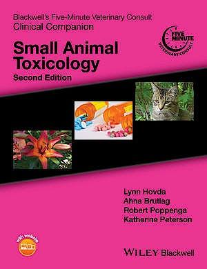 Portada del libro 9781119036548 Blackwell's Five-Minute Veterinary Consult Clinical Companion: Small Animal Toxicology