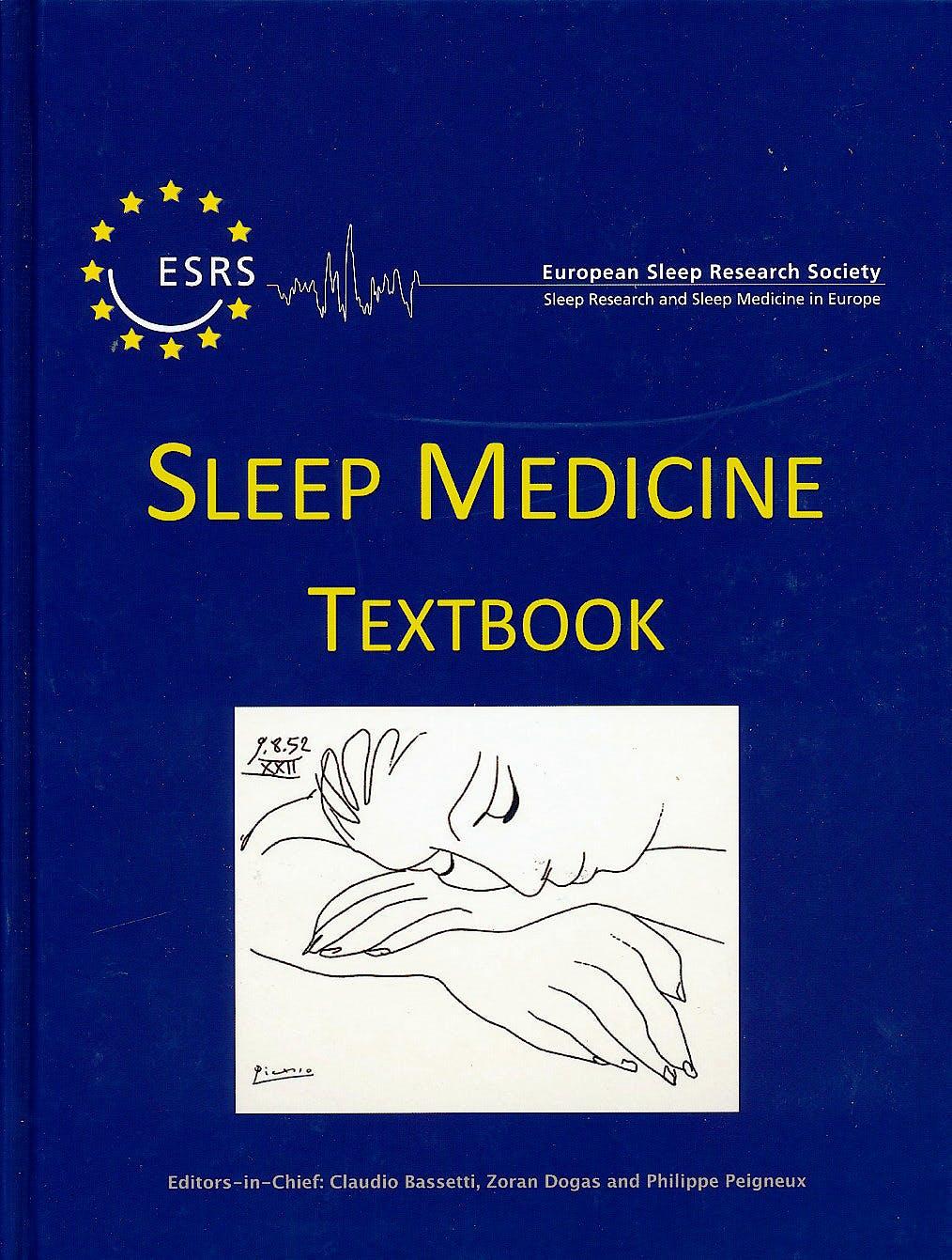Portada del libro 9781119038931 Sleep Medicine Textbook. European Sleep Research Society (ESRS)