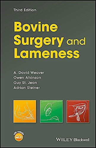 Portada del libro 9781119040460 Bovine Surgery and Lameness