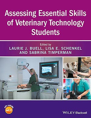 Portada del libro 9781119042112 Assessing Essential Skills of Veterinary Technology Students