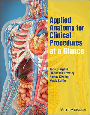 Portada del libro 9781119054580 Applied Anatomy for Clinical Procedures at a Glance