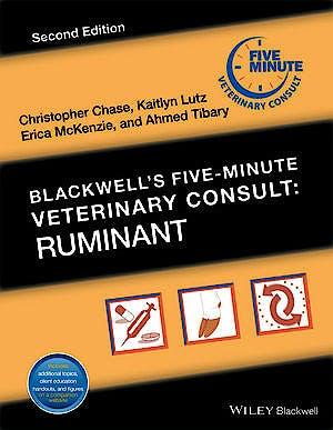 Portada del libro 9781119064688 Blackwell's Five-Minute Veterinary Consult: Rumiant
