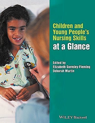 Portada del libro 9781119078531 Children and Young People's Nursing Skills at a Glance