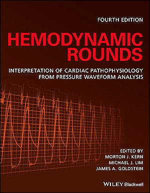 Portada del libro 9781119095613 Hemodynamic Rounds. Interpretation of Cardiac Pathophysiology from Pressure Waveform Analysis