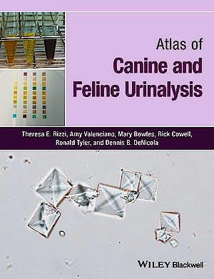 Portada del libro 9781119110354 Atlas of Canine and Feline Urinalysis