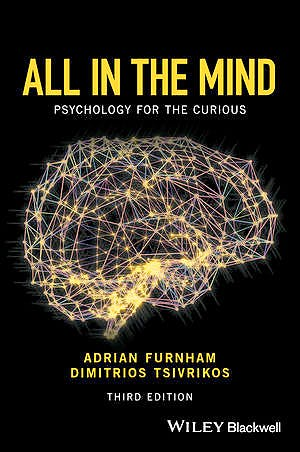 Portada del libro 9781119161653 All in the Mind: Psychology for the Curious (Harcover)