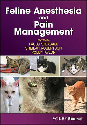 Portada del libro 9781119167808 Feline Anesthesia and Pain Management
