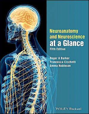 Portada del libro 9781119168416 Neuroanatomy and Neuroscience at a Glance