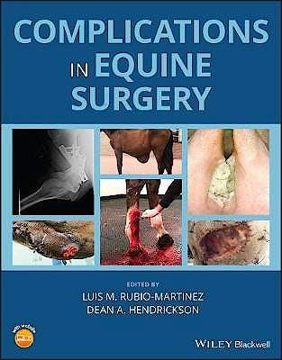 Portada del libro 9781119190073 Complications in Equine Surgery