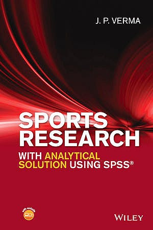 Portada del libro 9781119206712 Sports Research with Analytical Solution Using SPSS