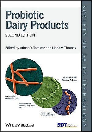 Portada del libro 9781119214106 Probiotic Dairy Products