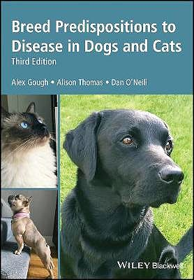 Portada del libro 9781119225546 Breed Predispositions to Disease in Dogs and Cats