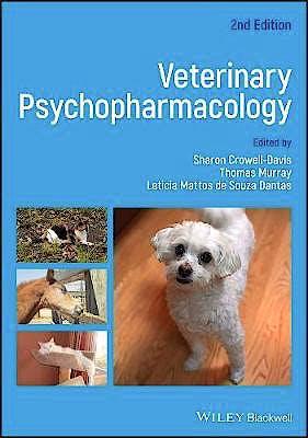 Portada del libro 9781119226222 Veterinary Psychopharmacology