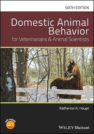 Portada del libro 9781119232766 Domestic Animal Behavior for Veterinarians and Animal Scientists