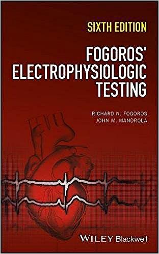 Portada del libro 9781119235804 Fogoro's Electrophysiologic Testing