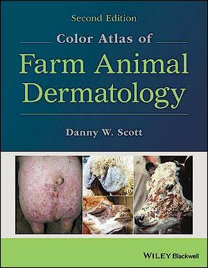 Portada del libro 9781119250579 Color Atlas of Farm Animal Dermatology