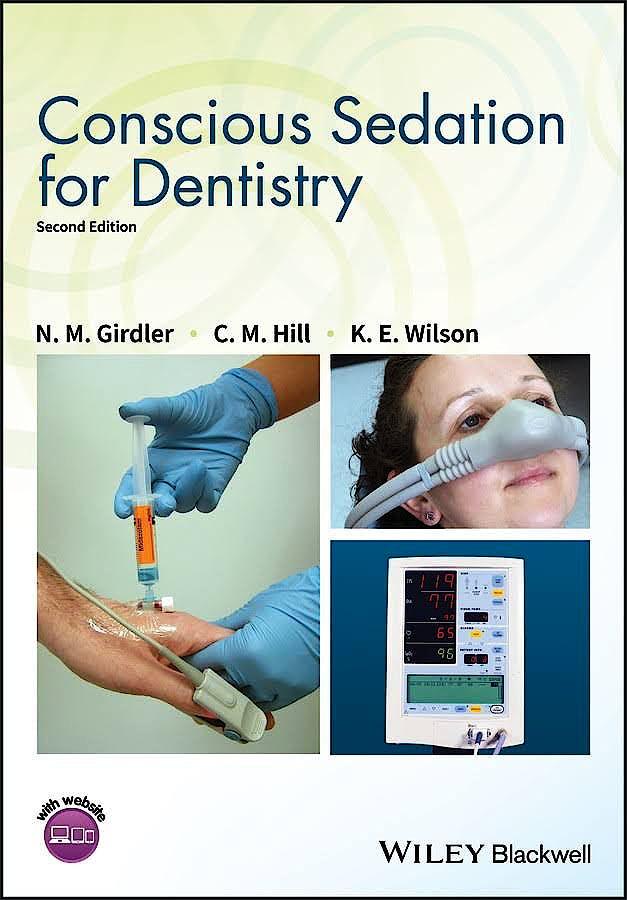 Portada del libro 9781119274476 Conscious Sedation for Dentistry