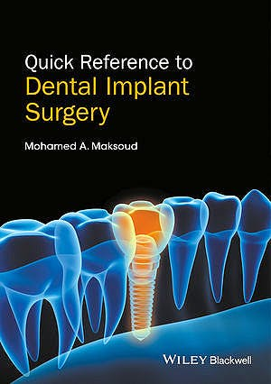 Portada del libro 9781119290124 Quick Reference to Dental Implant Surgery