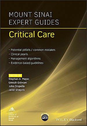 Portada del libro 9781119293262 Critical Care (Mount Sinai Expert Guides)
