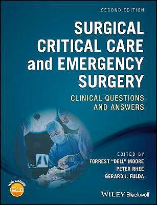 Portada del libro 9781119317920 Surgical Critical Care and Emergency Surgery. Clinical Questions and Answers
