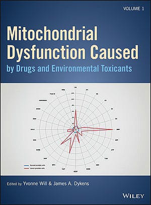 Portada del libro 9781119329701 Mitochondrial Dysfunction Caused by Drug and Environmental Toxicants, 2 Vols.