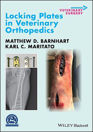 Portada del libro 9781119380122 Locking Plates in Veterinary Orthopedics