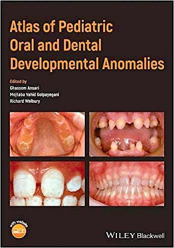 Portada del libro 9781119380856 Atlas of Pediatric Oral and Dental Developmental Anomalies