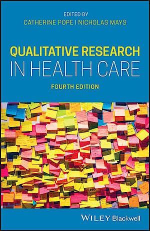 Portada del libro 9781119410836 Qualitative Research in Health Care
