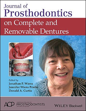 Portada del libro 9781119442622 Journal of Prosthodontics on Complete and Removable Dentures