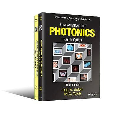 Portada del libro 9781119506874 Fundamentals of Photonics (2 Volume Set)