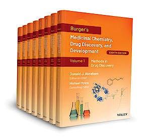 Portada del libro 9781119530305 Burger's Medicinal Chemistry, Drug Discovery and Development (8 Volume Set)