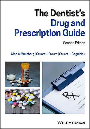Portada del libro 9781119539346 The Dentist's Drug and Prescription Guide