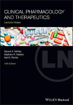 Portada del libro 9781119599951 Clinical Pharmacology and Therapeutics. Lecture Notes
