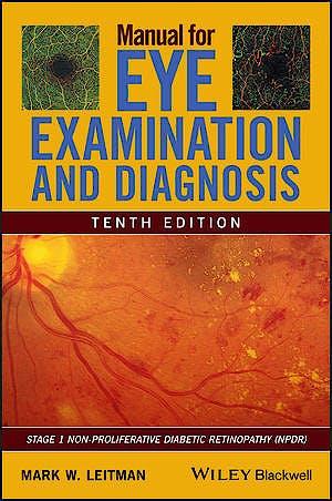 Portada del libro 9781119628583 Manual for Eye Examination and Diagnosis