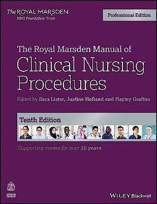 Portada del libro 9781119634386 The Royal Marsden Manual of Clinical Nursing Procedures. Professional Edition (Paperback)