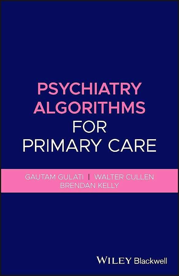 Portada del libro 9781119653561 Psychiatry Algorithms for Primary Care