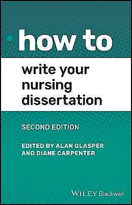 Portada del libro 9781119757733 How to Write Your Nursing Dissertation