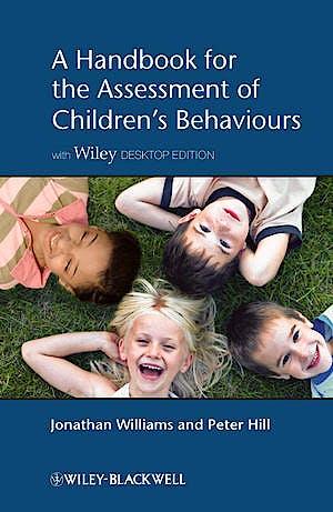 Portada del libro 9781119975892 A Handbook for the Assessment of Children's Behaviours, Includes Wiley Desktop Edition