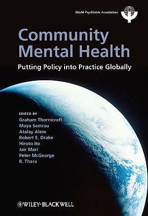 Portada del libro 9781119998655 Community Mental Health: Putting Policy into Practice Globally