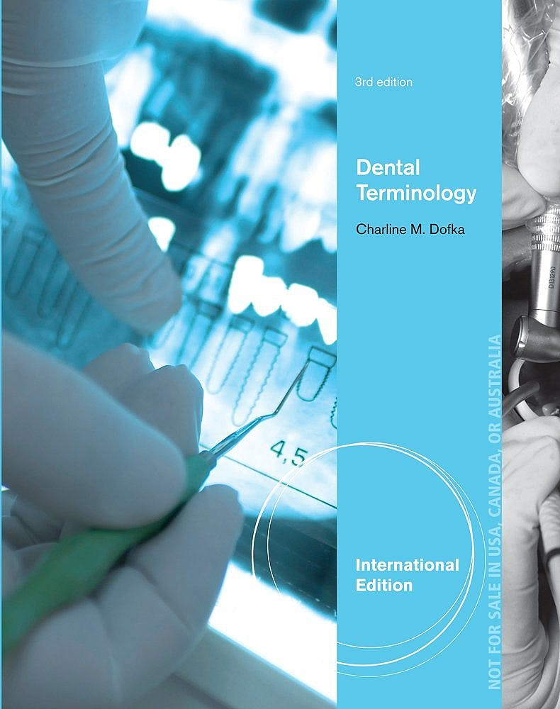 Portada del libro 9781133589945 Dental Terminology (International Edition)