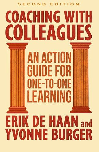 Portada del libro 9781137359193 Coaching with Colleagues 2nd Edition: An Action Guide for One-to-One Learning